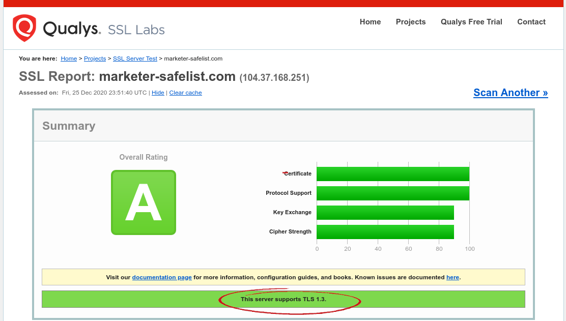 marketer-safelist.com SSL reputation